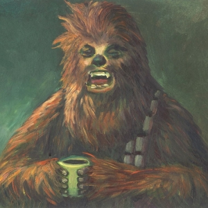 Morning Wookie