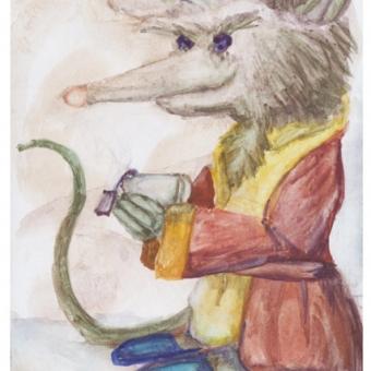 Morning Tea Mouse 2016
