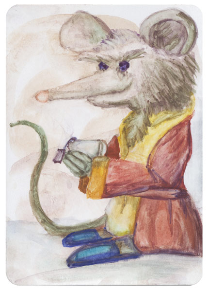 Morning Tea Mouse 2016