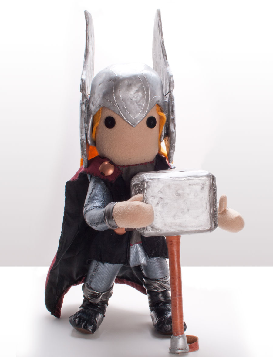 Thor Custom Plush Toy