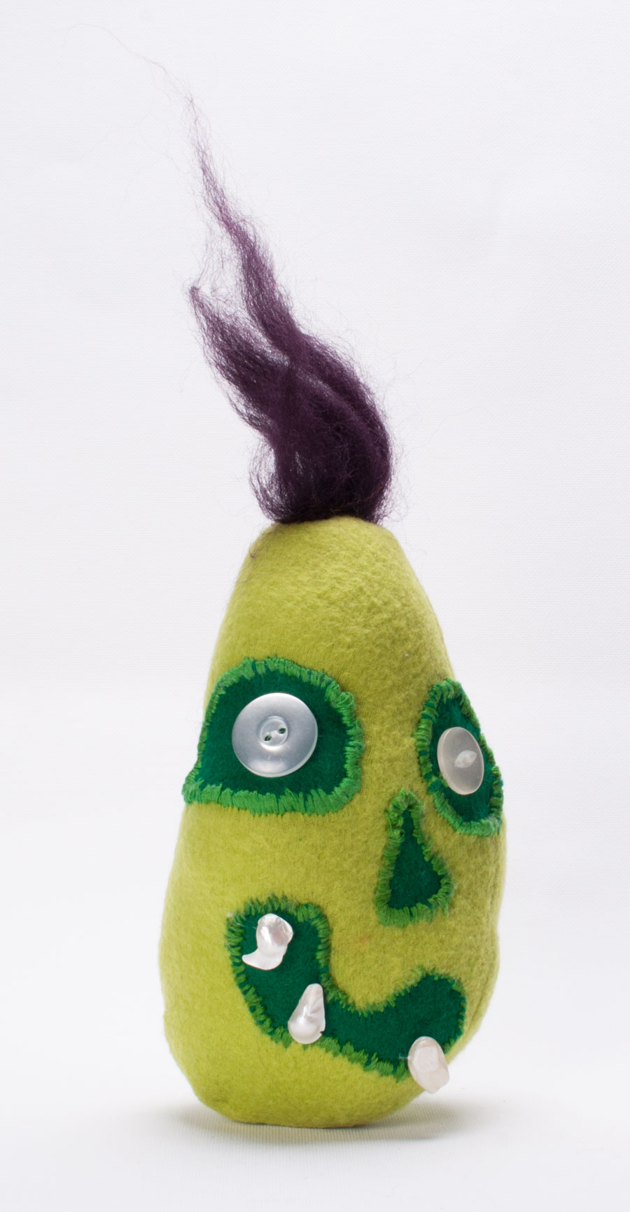 zombie bean custom plush