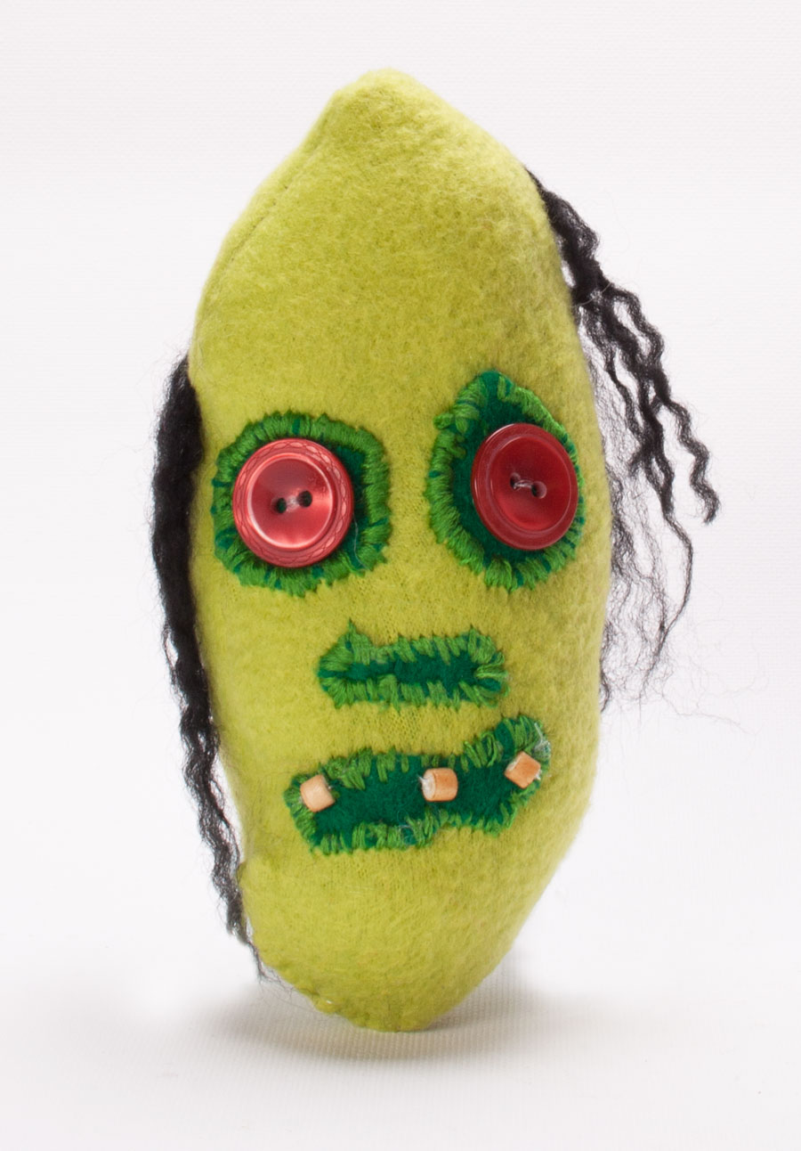 zombie bean custom plush