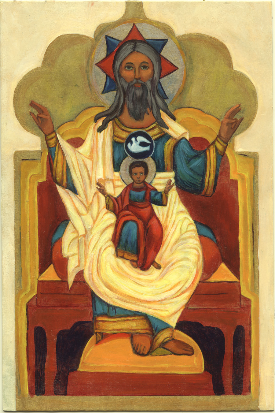 Icon after Paternity