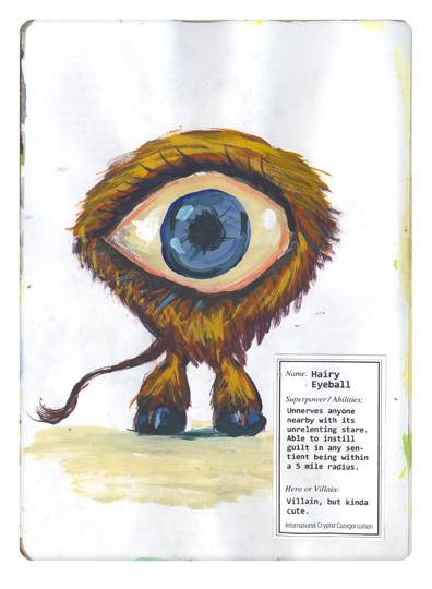 Hairy Eyeball